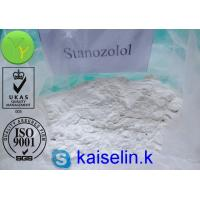 China  Stanozolol Anabolic Steroid Powder 10418-03-8 Winstrol Liquid 50 mg / ml  for sale