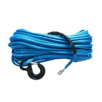 China Ship Towing Synthetic Winch Line 14mm*40m , Boat Winch Cable Easy Handling wholesale