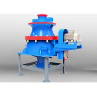 China Firm Structure Cone Crusher Machine , Gold Ore Crusher Hydraulic Crushing Machine wholesale