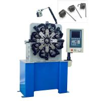 China Automatic Torsion Spring Machine Consists Of Cam Axis , Wire Feeding Axis , Rotation Core wholesale