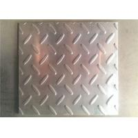 China Checkered Diamond Plate Aluminum Sheets 1060 1100 3003 For Ships / Bus Building wholesale