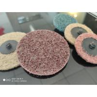 China nylon sanding roloc flap disc, quick change disc, round abrasive flap disc for train manufacturing deburring on sale
