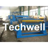 China 380V / 50Hz / 3Ph 30KW Simple Slitting Line For Slitting Coil Into 12 strips wholesale