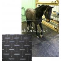 China Black horse / cow  rubber stable matting variable textures on top 3mm thick min. wholesale