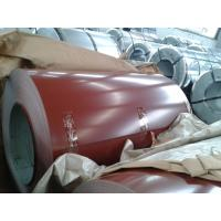 Quality Zn 60g Color Coated Steel Coil , Prepainted Galvanized Steel Coil for sale