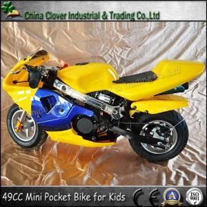 China Cheap Brithday Gift Mini 49CC Pocket Bike Kids Motorbike for Sale wholesale