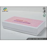 China Personal Designed Cosmetic Delivery Box , Makeup Packaging Boxes Matt Lamination wholesale
