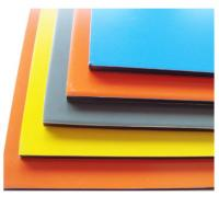 China ACP ACM Fireproof Aluminum Composite Panel With Thickness 0.25 - 4.0 mm wholesale