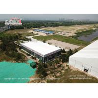 China Aluminum Cube Clear Span Tents with Thermal Roof Cover for Office House wholesale