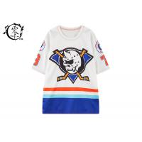 China Custom New York Death Adders Shirts , Hockey Jersey Woman Mid Sleeve Shirts on sale