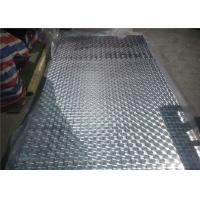 China Diamond Embossed Aluminum Sheet Thickness 0.3 mm 0.4 mm 0.5 mm Aluminium Sheet wholesale