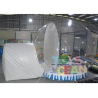 Quality Large Christmas inflatable Snow Globe Tent Outdoor Decorations For Advertising for sale