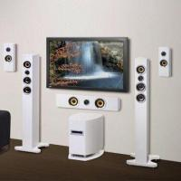 China Surround Sound Speakers, Ideal for TV, CDD, CD and iPod wholesale