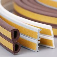 China New product oem abrasion resistant soft rubber sponge strip/silicone striping/customize silicone seal wholesale