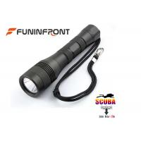 China Underwater 150 Meters 1200LMs LED Flashlight Scuba Diving Lights wholesale