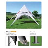 China Outdoor Personalized Canopy Tents, Foldable Star Custom Printed Pop Up Tents wholesale