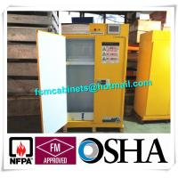 China Flammable Filtered Safety Cabinets with ductless filtration and ventilation system wholesale