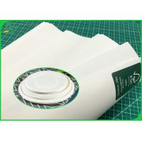 China Paper Plates Material 100G 120G Pure White Kraft Paper Roll Food Grade Certified wholesale