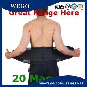 China WG-LS008Lightweight Waist Lumbar Lower Back Trimmer Support Brace Belt with 20 Magnets wholesale