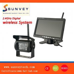 China 7'' WIFI Car Backup Camera And Monitor , CMOS Reversing Camera wholesale