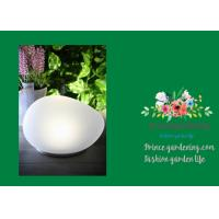 China Outdoor Solar Garden Lights , LED Solar Stone Light 16.8 x 14.5 x 10.7cm wholesale