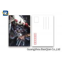 China Pantone Color Printing PET 3D Lenticular Postcards 3 Dimensional Effect Image wholesale