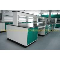 Wholesale Glare surface school chemical lab Island bench solid anti high temperature from china suppliers