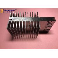 China High Durability Heat Sink Aluminum Profiles Silver Anodizing Surface Treatment on sale