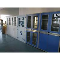 China Chemical Laboratory Steel Cabinet With Glass Door Storage Cabinet Used For Hospital wholesale
