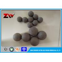China Mining Forged Grinding Steel Balls 1 - 5 Inch Solid For Ball Mill wholesale