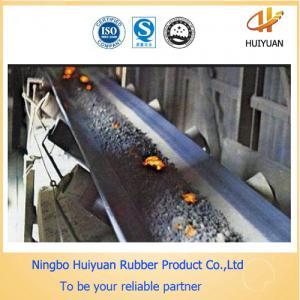 China Industrial Coal Mine Heat Resistant Conveyor Belt on sale