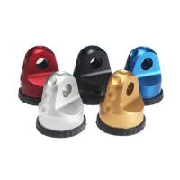 China Personalized Color Quick Release Shackle , Winch Recovery Jeep Shackle Mounts wholesale