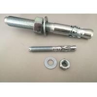 China Hardware Fasteners Expansion Anchor Bolt Wedge Anchors With White Zinc Plated wholesale