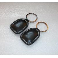 China access control proximity rfid smart keytag Leather RFID Key Fobs (125KHz EM4100) on sale