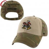 Buy cheap Camo Cotton Trick Gordie Adjustable Baseball Cap/Golf Cap for Unisex from wholesalers
