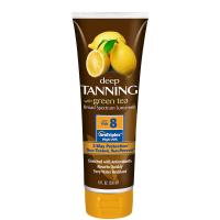 China 236ml super-luxurious lemonate deep bronzer tanning lotion with SPF8 wholesale