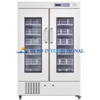 China Side-by-side Door Blood Bank Refrigerator 680L/1000L/1100L on sale