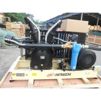 China High Pressure Piston Air Compressor Booster Compressor With Big Air Flow wholesale