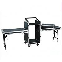 China 14U Amplifier Rack Flight Case With Stand Table wholesale