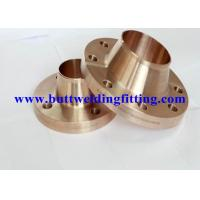 China Welding Neck Flange PN10 CuNi 90/10 Flat face Din2632 EEMUA145 ANSI B16.5 on sale