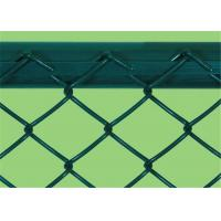 China Heavy Protecting PVC Coated Chain Link Fence 0.5 - 4m Width 5 - 25m Length wholesale