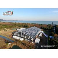 Buy cheap 18  x 50 Meter  Transparent Outdoor Party Tents For 800 Poeple Company Anniversary from wholesalers