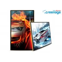 China Indoor Wall Mounted Digital Signage LCD Media Player High Definition 1080P wholesale