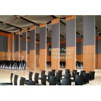 China Movable Wooden Soundproof Folding Room Sliding Partition Walls For Banquet Hall Acoustic on sale