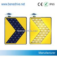 China Solar Traffic Signs LED Road Signs Moving Flashing Arrows STS0112 wholesale