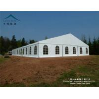 China White / Clear Fabric Large Wedding Tents In Kenya / Backyard Tent Party wholesale