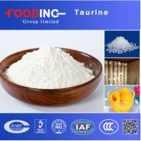 China CAS 107-35-7 Pure Taurine Powder 2- Aminoethanesulfonic Acid Sports Nutrition Food Additives on sale