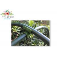 China Heavy Duty Green Flower Garden Plant Supports Stake With Plastic Coated wholesale