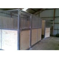 Buy cheap Metal Horse Stall Fronts , 4.0*2.2m Horse Stable Box With Sliding Door from wholesalers