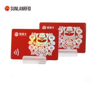 China 2018 Laser Material Christmas Greeting Card wholesale